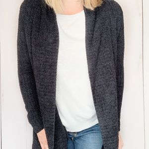 BAREFOOT DREAMS Cozy Chic Lite Open Cardigan